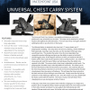 universal chest carry system with holster backer matchpoint usa